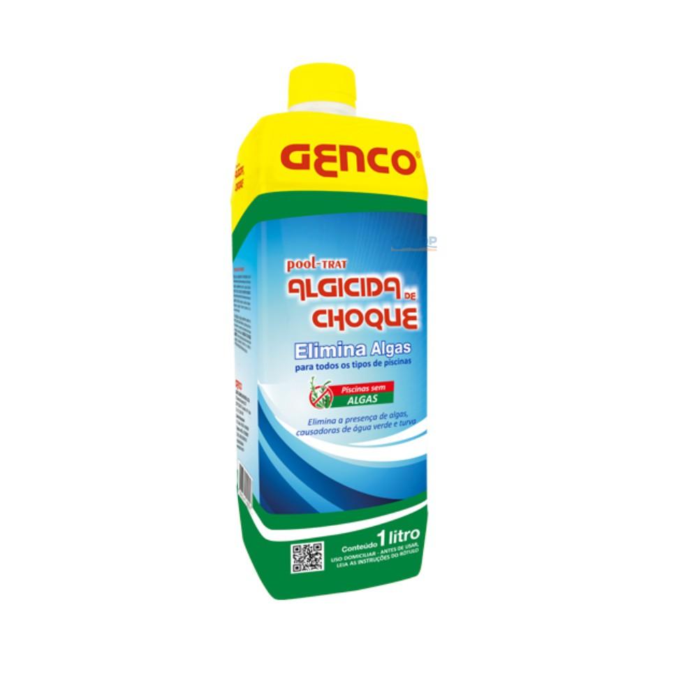 Algicida Choque Genco Pool-Trat - 1 Lt