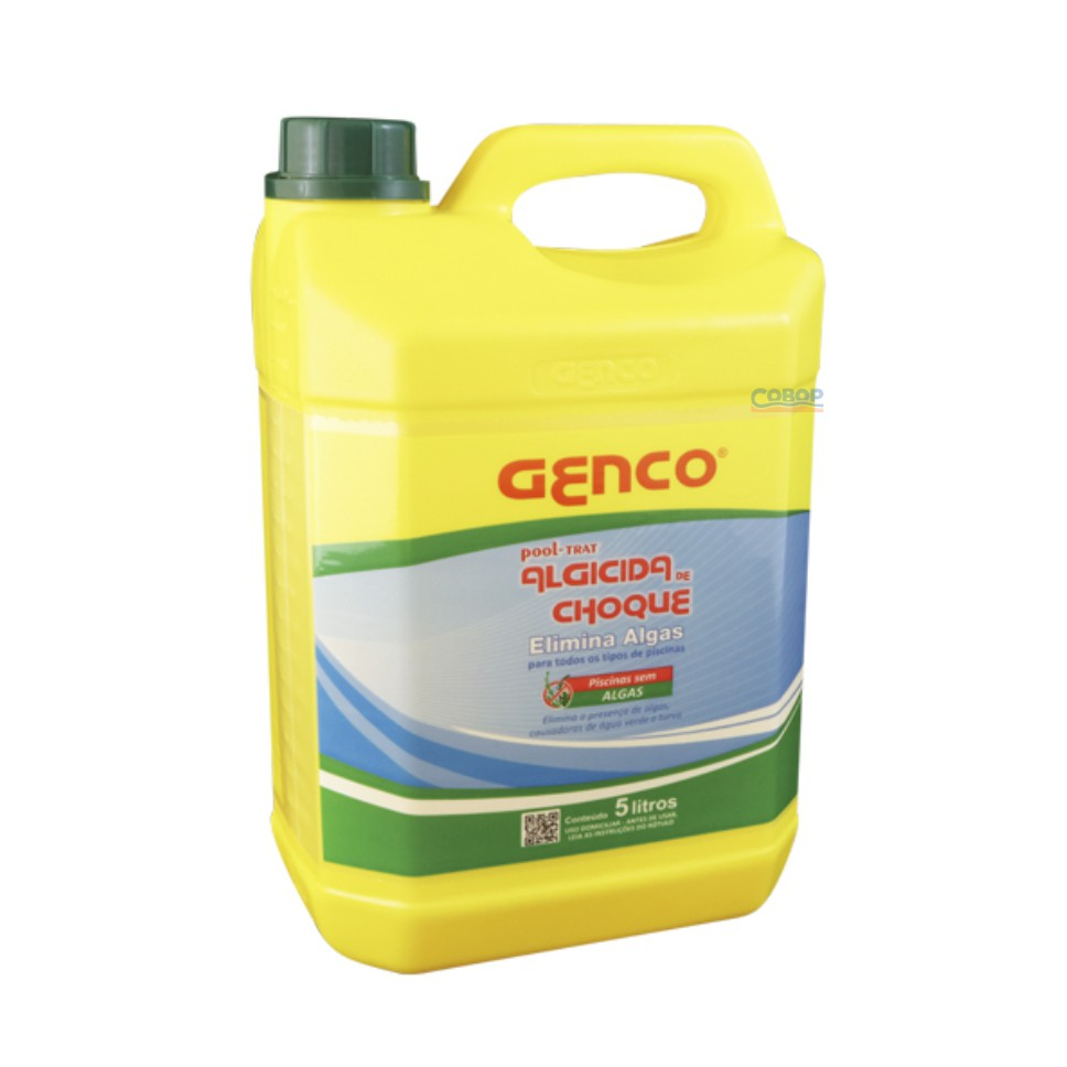 Algicida Choque Genco Pool-Trat - 5 Lt