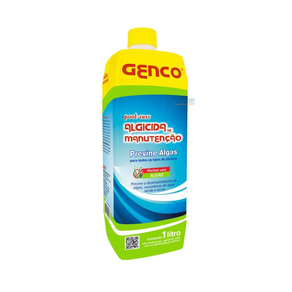 Algicida Manutenção Pool-Trat Genco - 1 Lt