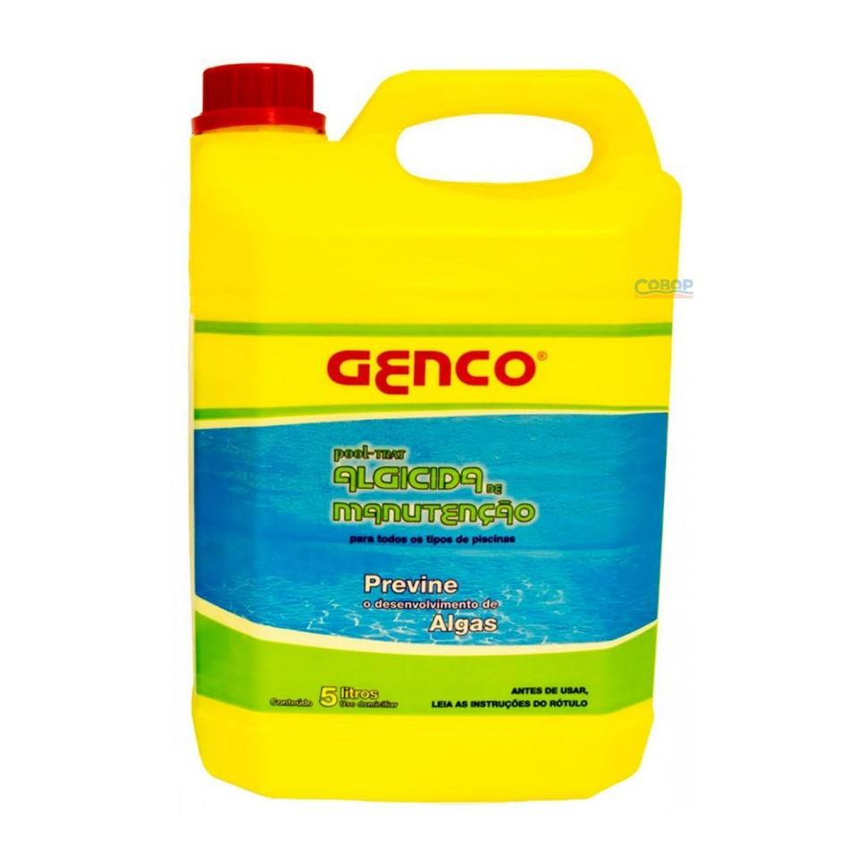 Algicida Manutenção Pool-Trat Genco - 5 Lt
