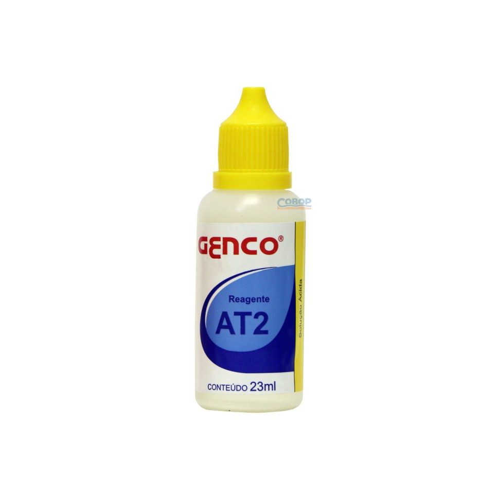 Reagente De Reposição At2 - Medir Alcalinidade - Genco