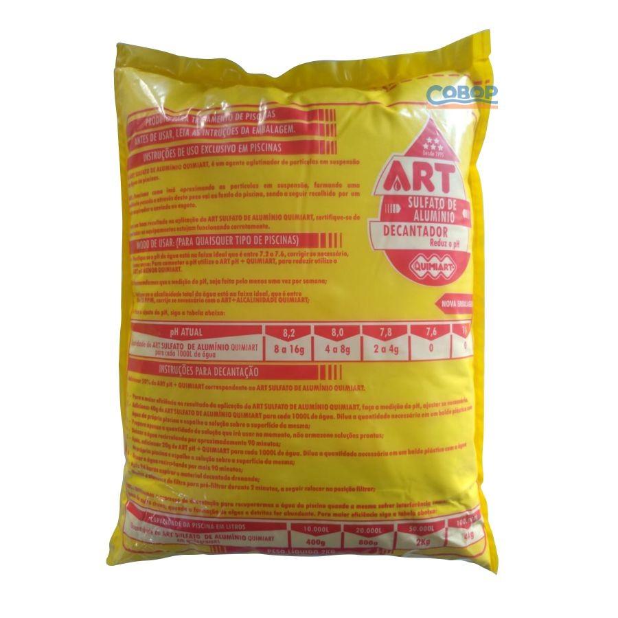 Sulfato De Alumínio 2 Kg - Quimiart