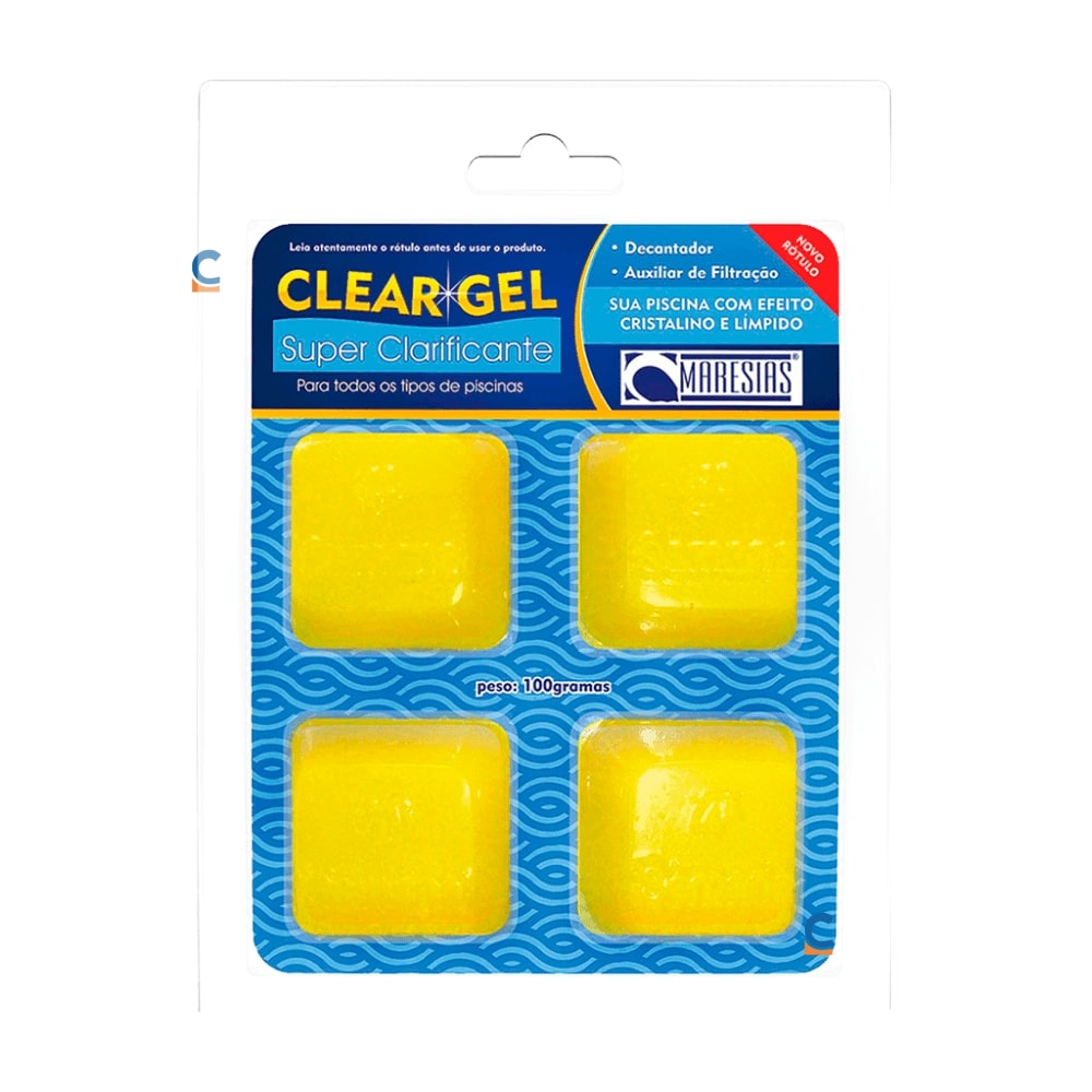 Super Clarificante Clear Gel Maresias 100 gr