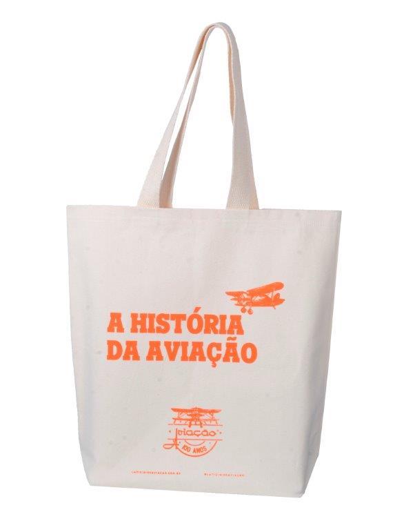 Eco Bag - Escrita Laranja
