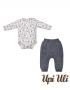Body C/ Culote  Sport Fleece Laserwash/Suedine Estampado Starter Pack