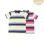 Camiseta Polo Pique Listrado Upiuli  Masculina