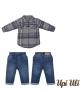 Conj. Longo Taos  Mirai/Jeans Upiuli