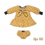 Vestido De Bebê Longo Suedine Lily