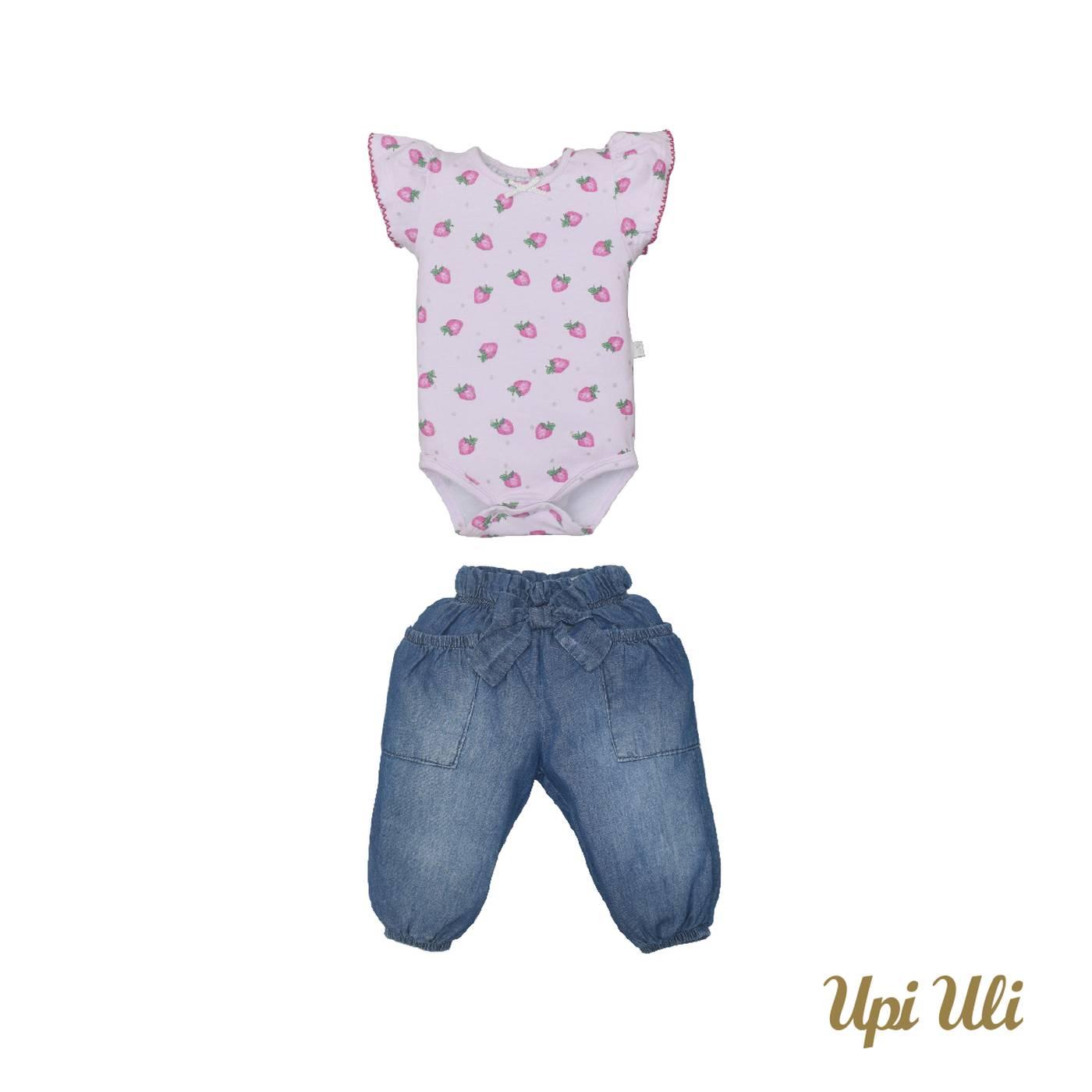 Conj. Body C/ Culote  Cotton/Jeans Valéria  P/V