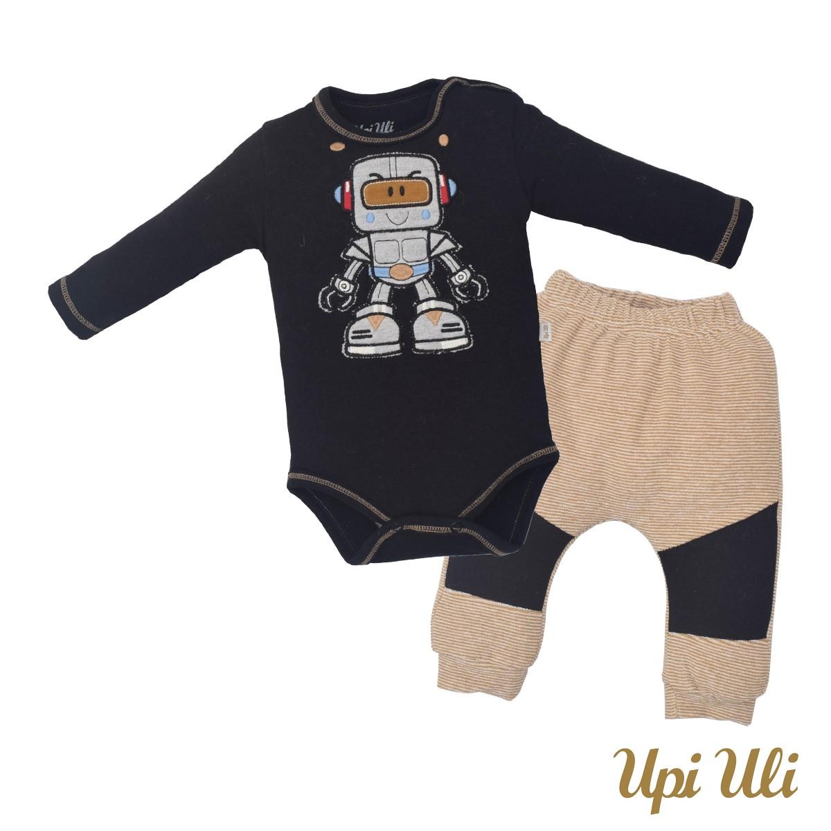 Conjunto de bebê Body C/ Culote  Soft Comfort/ Plush Caue O/I
