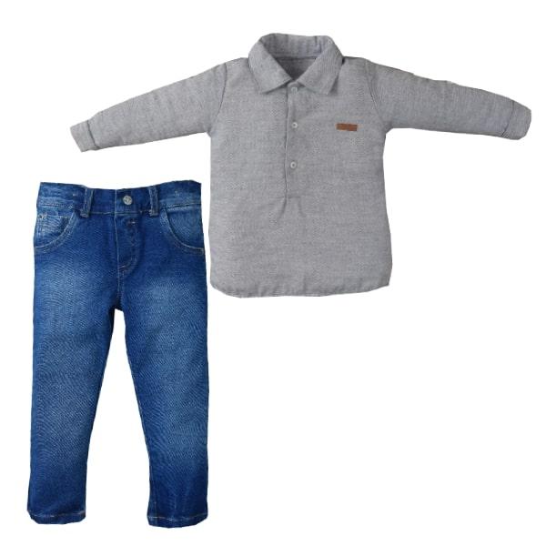 Conj. Camisa Elias Stamp/Jeans Megan Upiuli