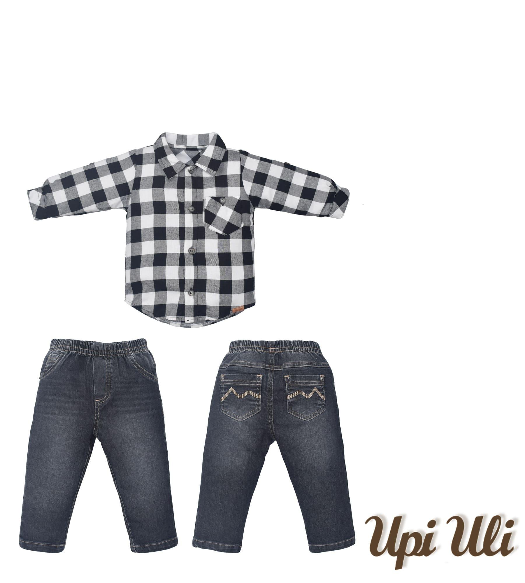 Conj. Longo Velan Mirai/Jeans Upiuli