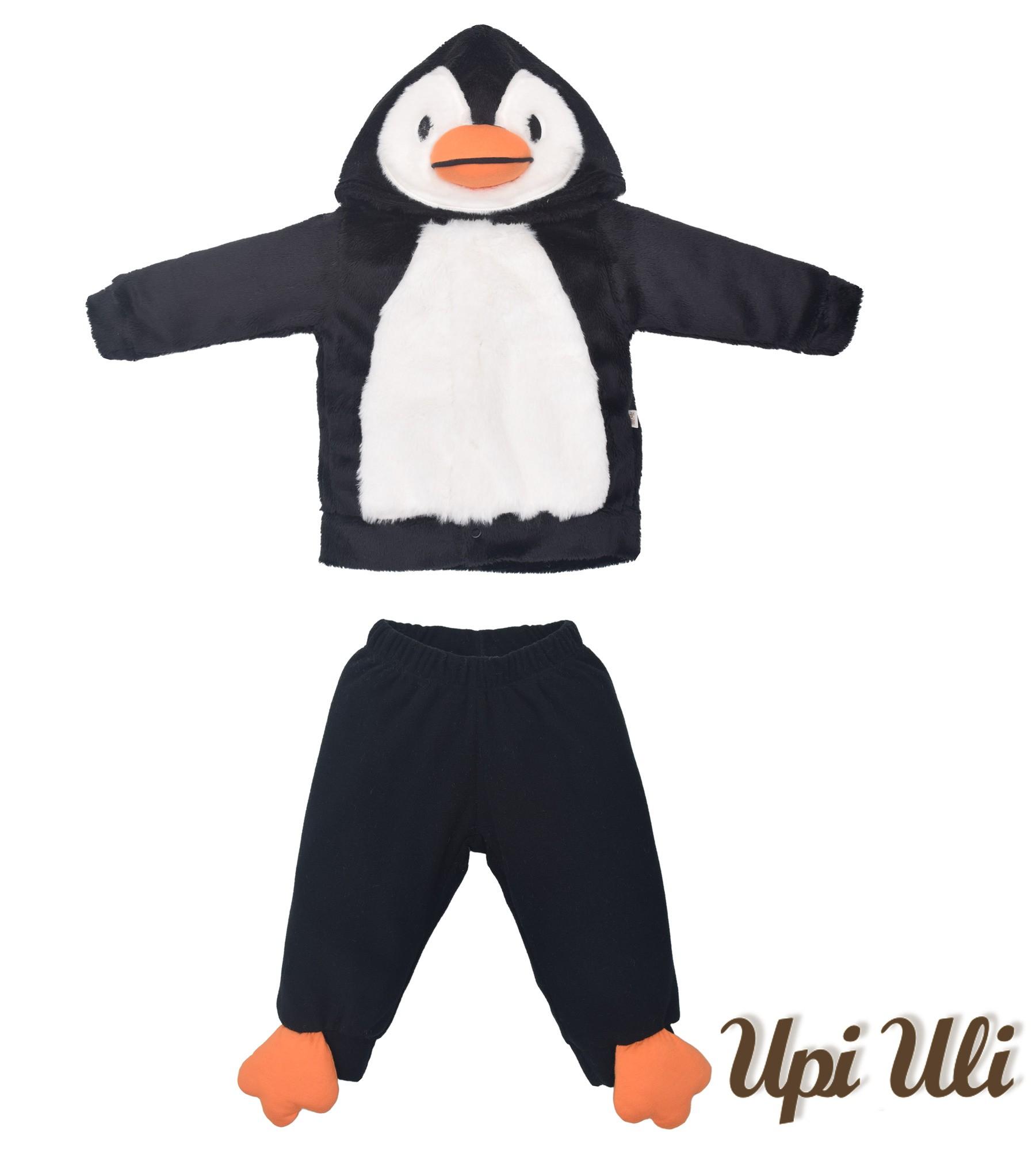 Conjunto C/ Capuz  Caress/Pele  Agata Pinguim