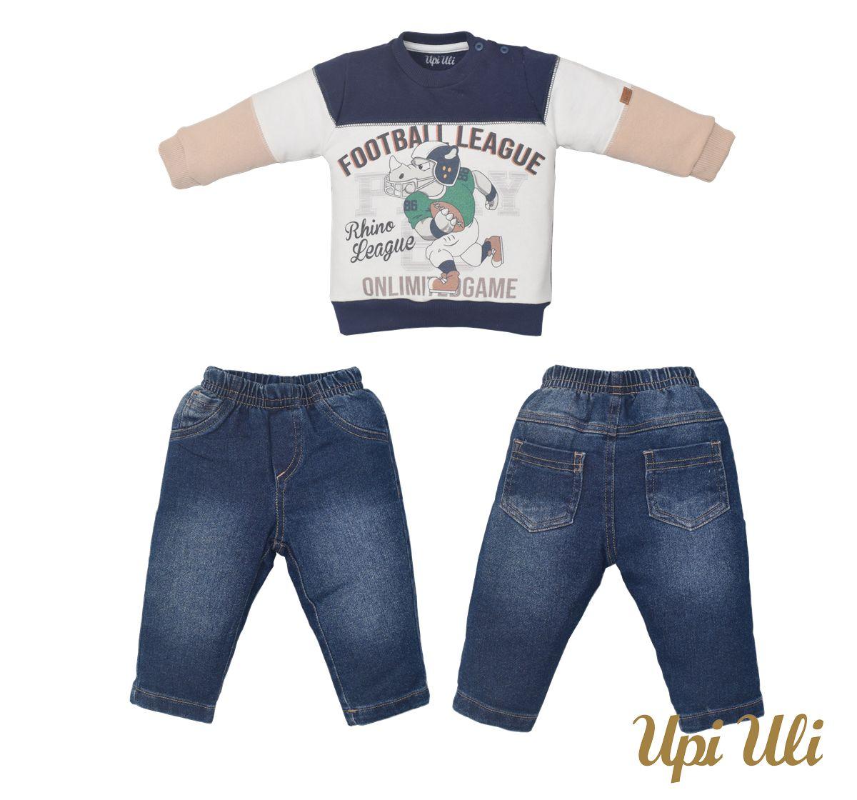 Conjunto Longo Moletom/Jeans  Thomas  O/I 2021