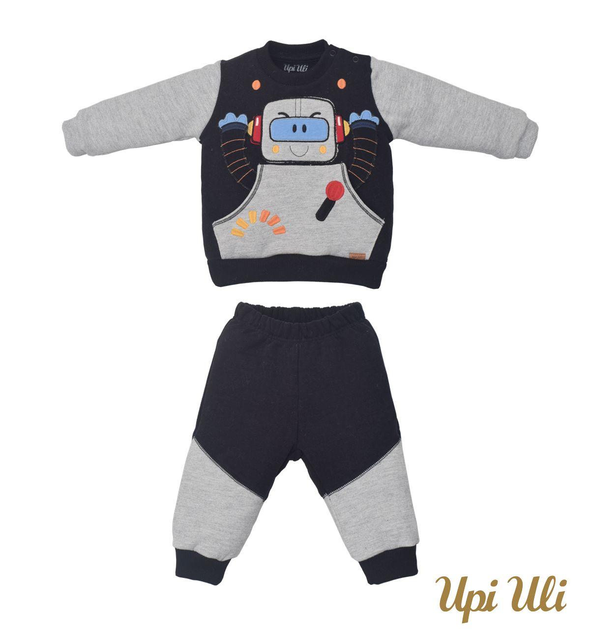 Conjunto de bebê  Longo  Moletom/Plush Nuvem  Vinicius O/I