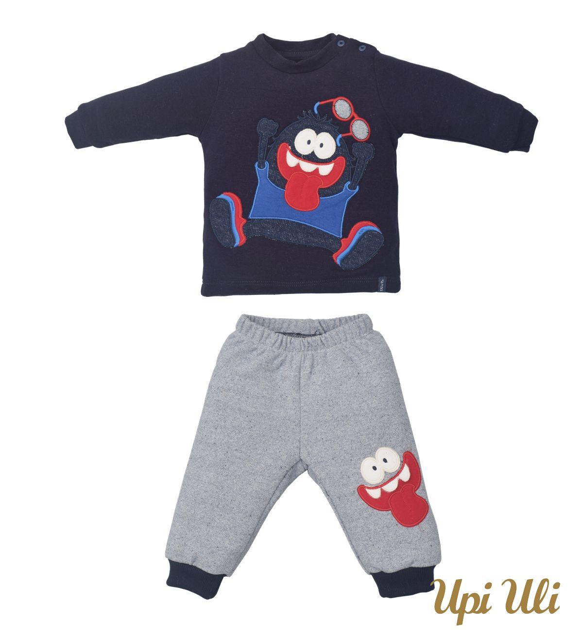 Conjunto infantil   Longos Soft Comfort/Moletom Levi O/I