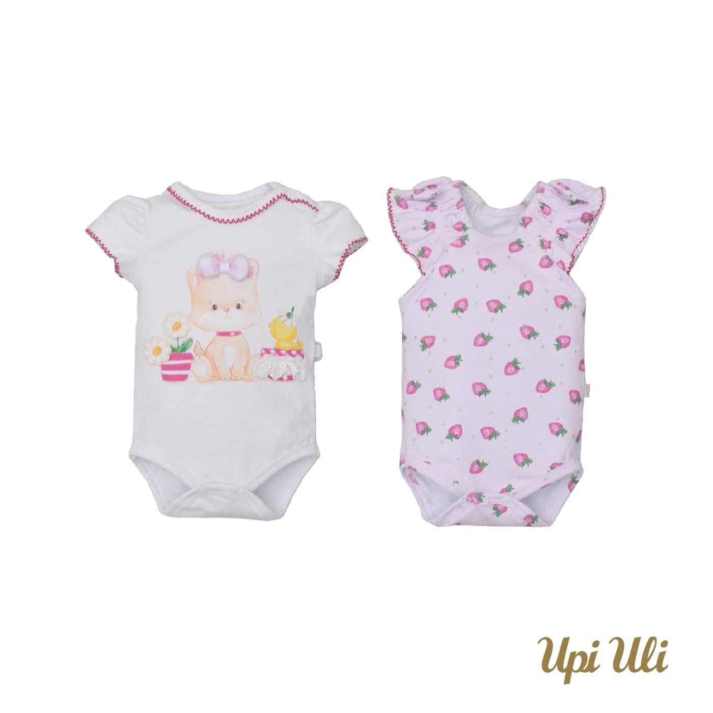 Kit bebê body 2 Peças Cotton Valeria