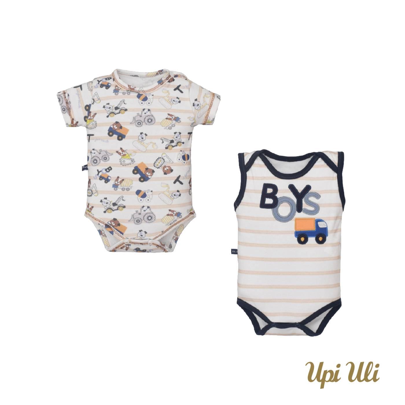 Kit De Bebê Body 2 Peças Suedine Alfredo