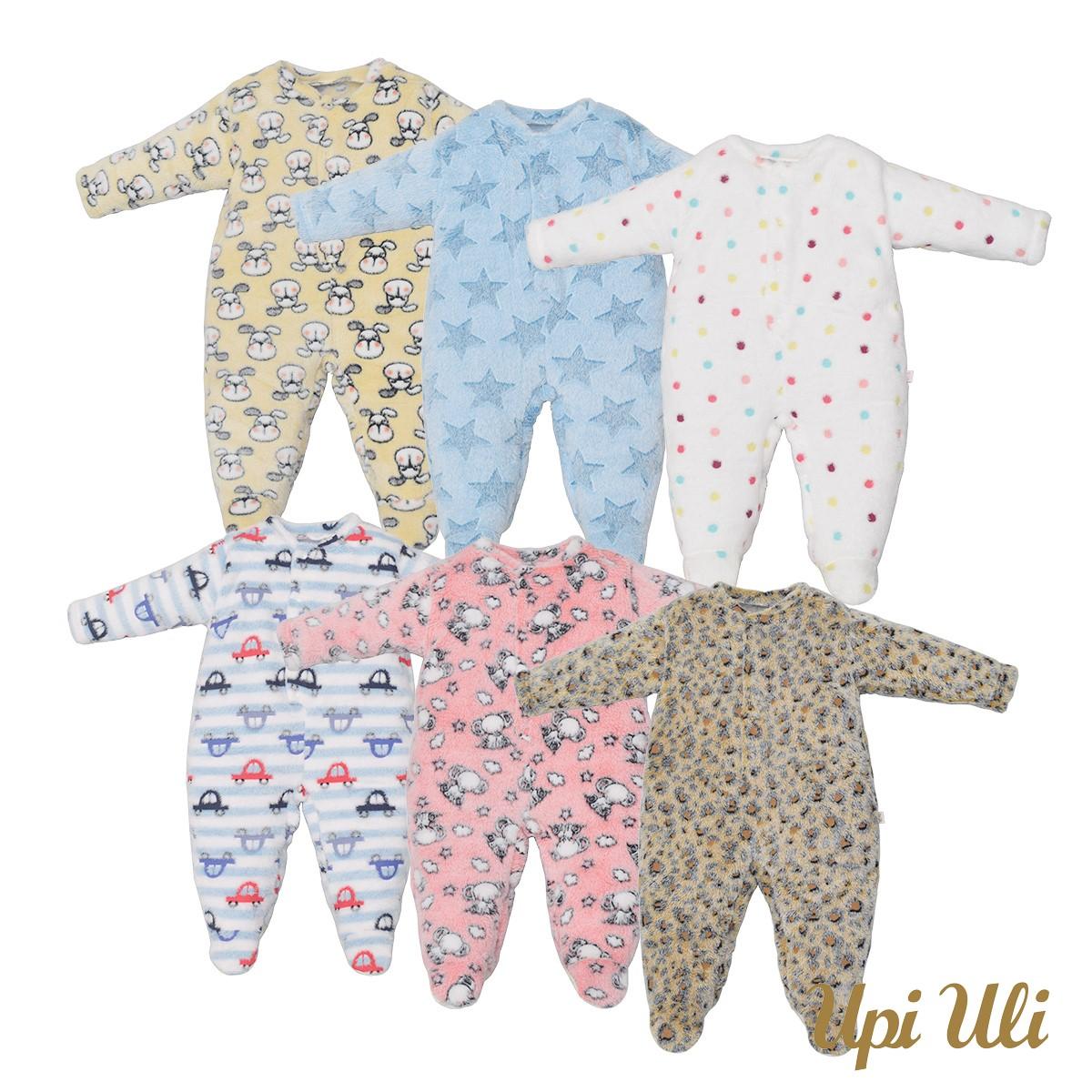 Macacão Pijama Fleece Multicolor Un. O/I