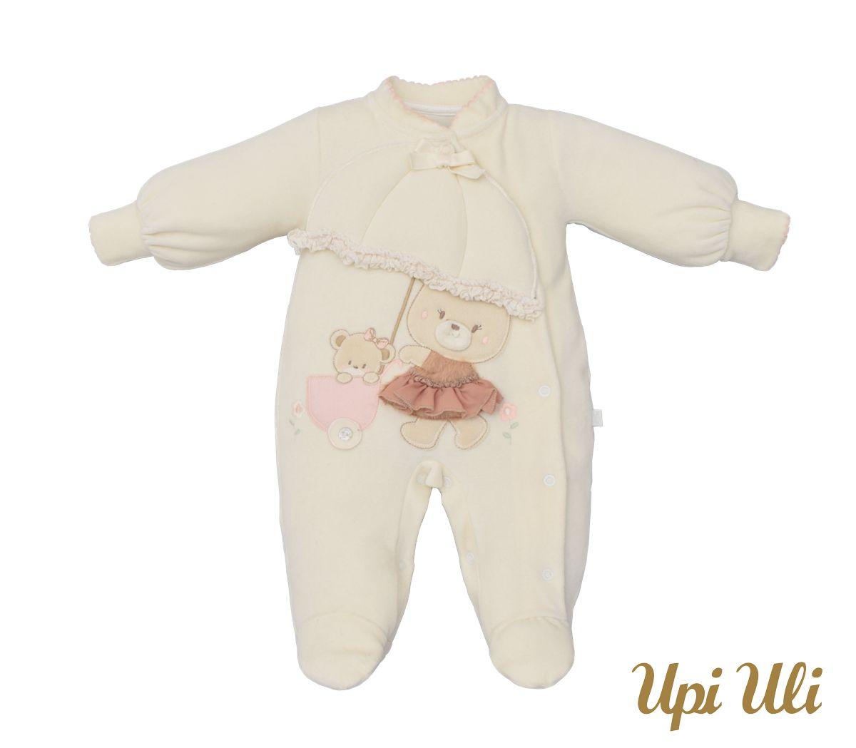 Macacão De Bebê Plush Beatriz