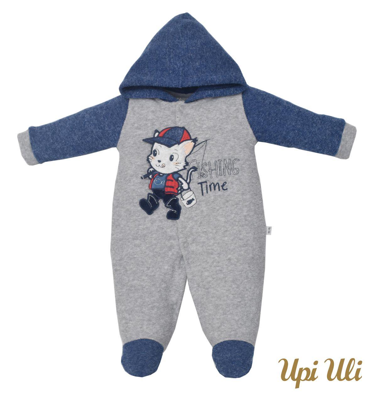 Macacão de bebê  Plush Buckle Theo O/I