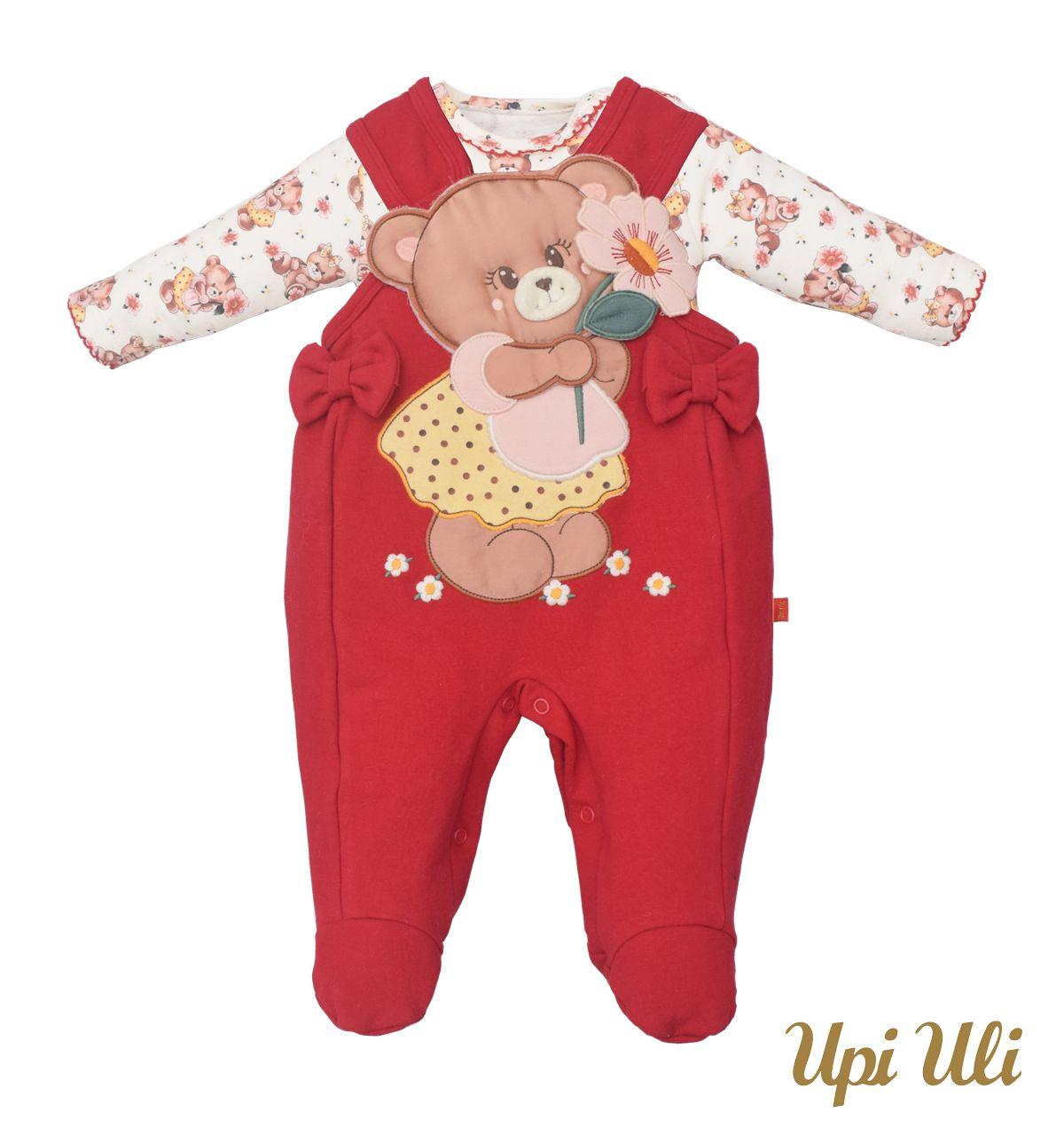 Macacão De Bebê Soft Confort Sarah