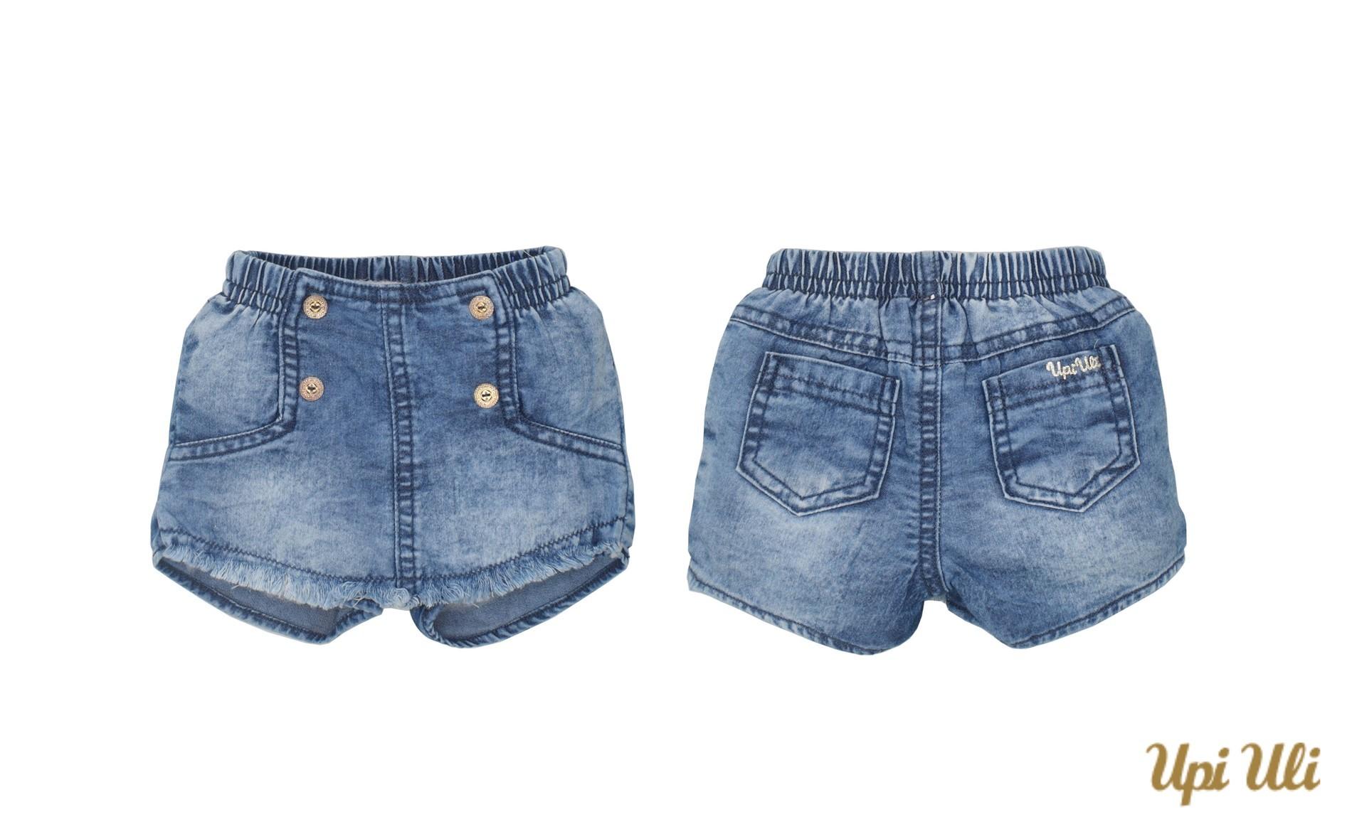Shorts Saia Jeans Baby e Girl Paula