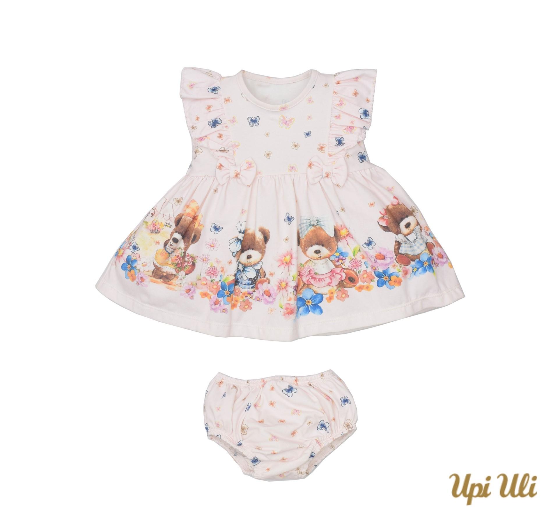 Vestido C/ Calcinha Cotton Isabela