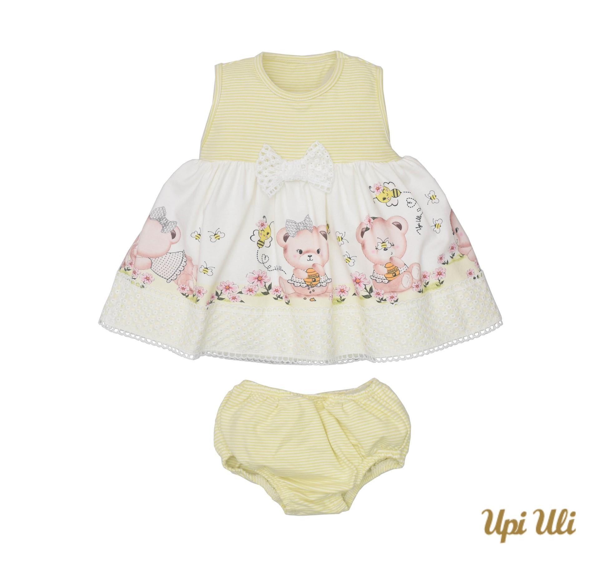 Vestido C/ Calcinha Cotton Manú