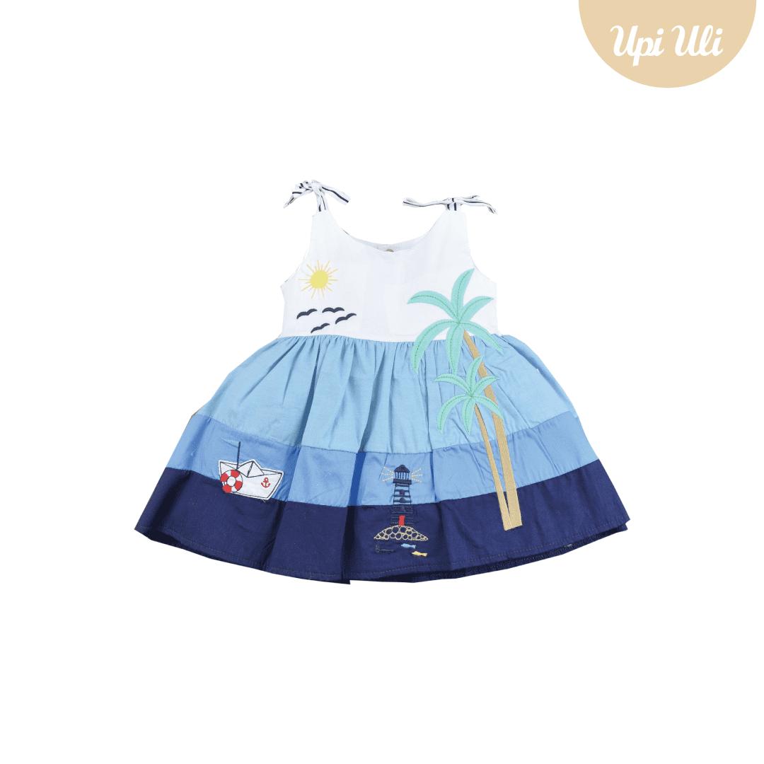 Vestido Tricoline Summer