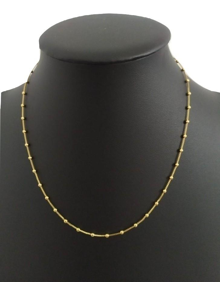 Corrente Rellicari Banhada A Ouro Feminina 45 Cm C042