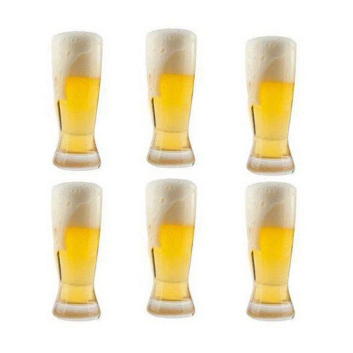 Copos para cerveja 210 ml com 6 unidades