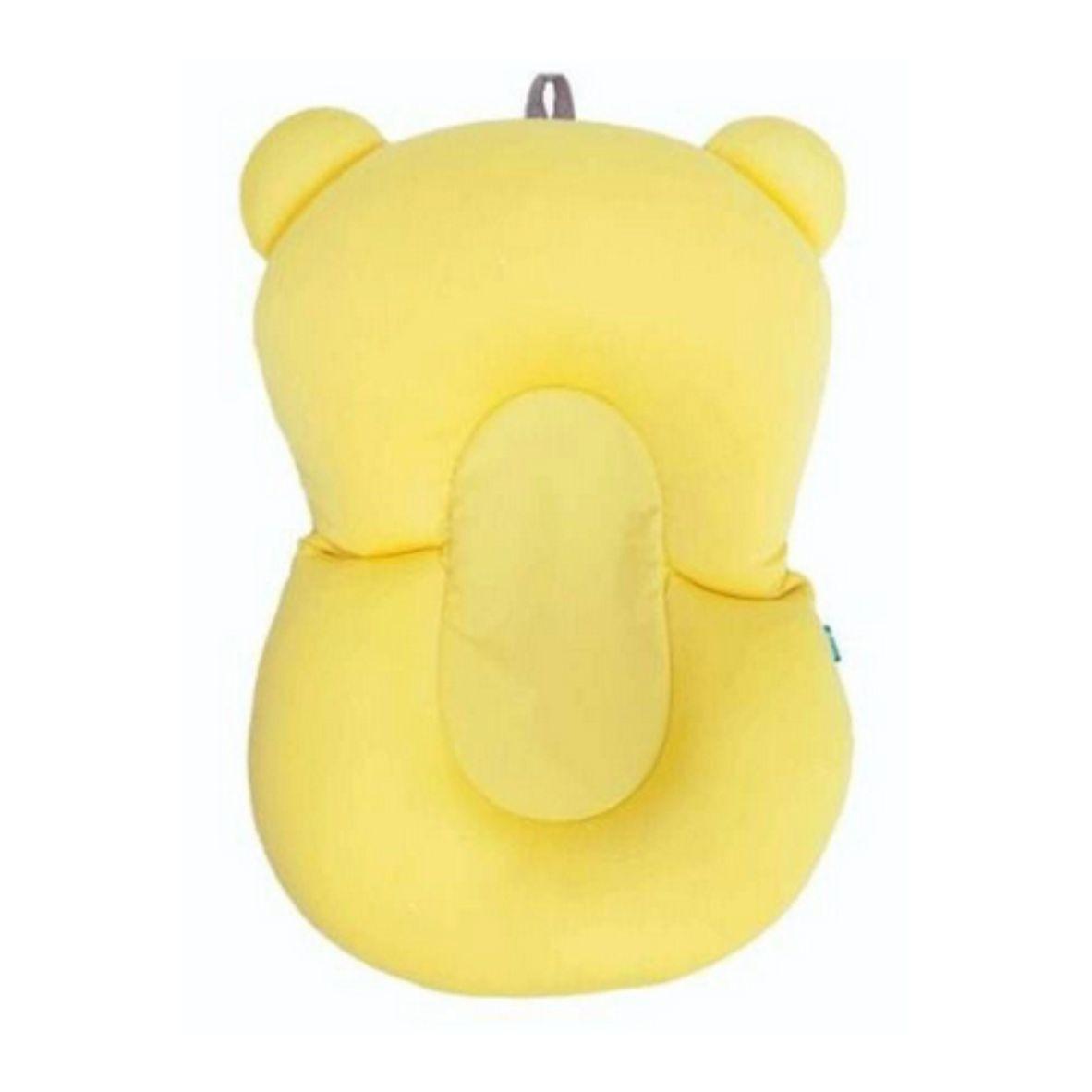 Almofada para Banho Baby Amarela - Buba