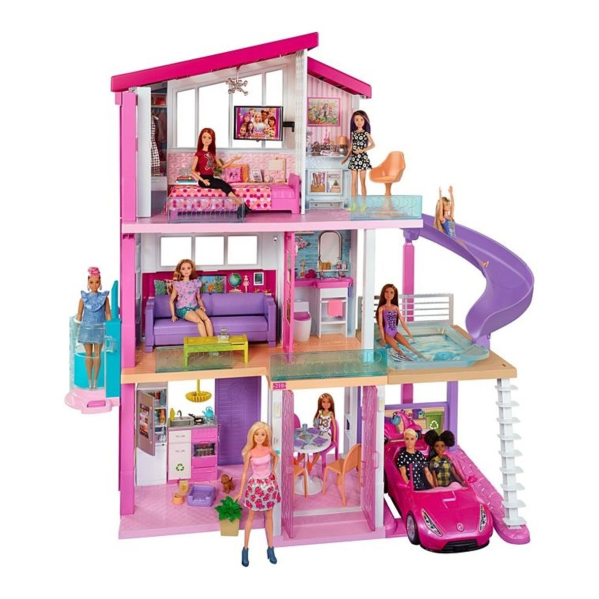 Barbie Real - Casa dos Sonhos - MATTEL