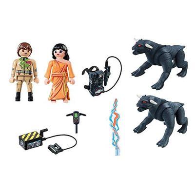 Blocos de Encaixe Playmobil Ghostbusters - Venkman e Cachorros do Terror - 20 peças - Sunny