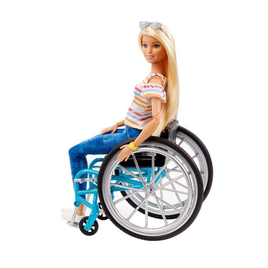 Boneca Articulada Barbie Fashionistas Cadeira de Rodas - Mattel