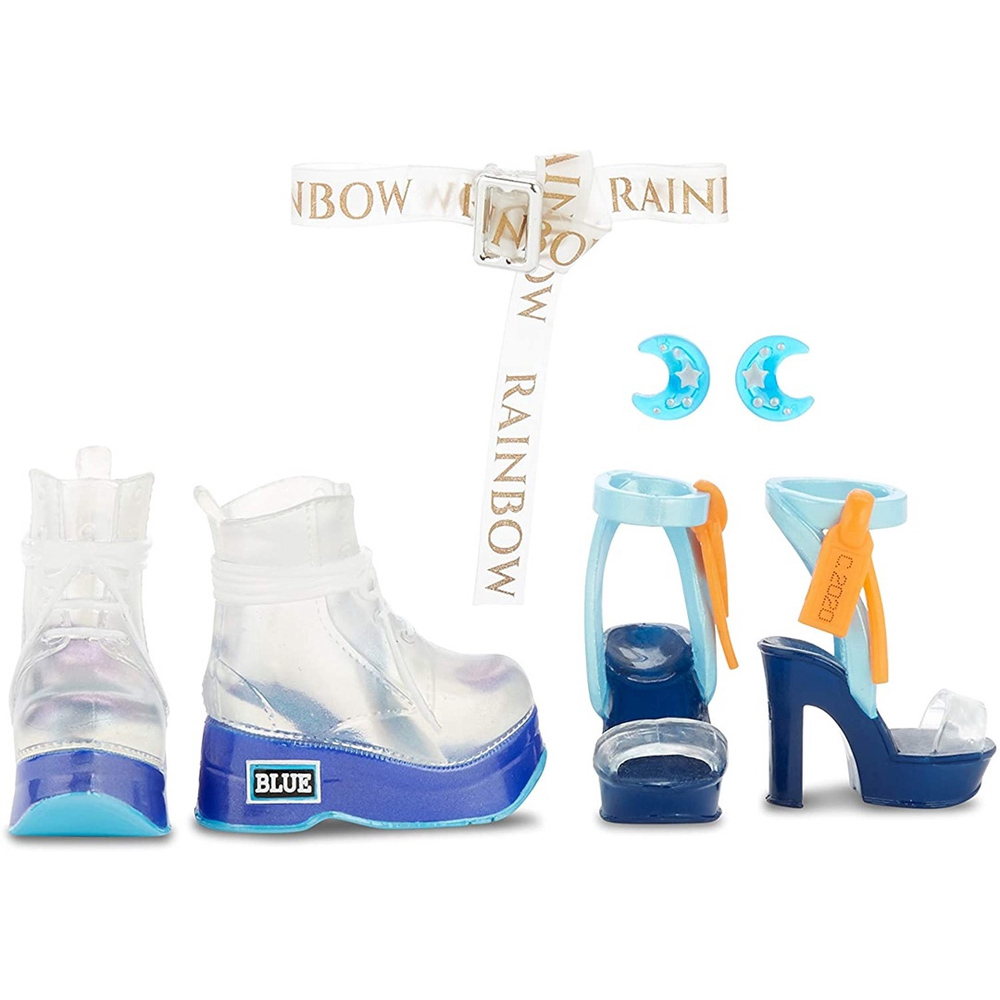 Boneca Articulada Rainbow High Fashion Bradshaw - Candide