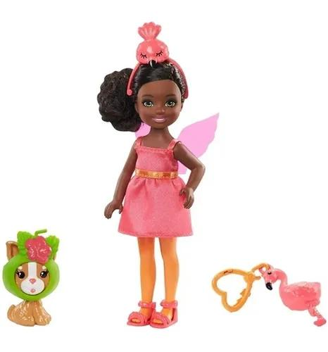 Boneca Barbie Club Chelsea Fantasia Flamingo - Mattel