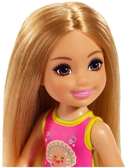 Boneca Barbie Club Chelsea Maiô Concha - Mattel