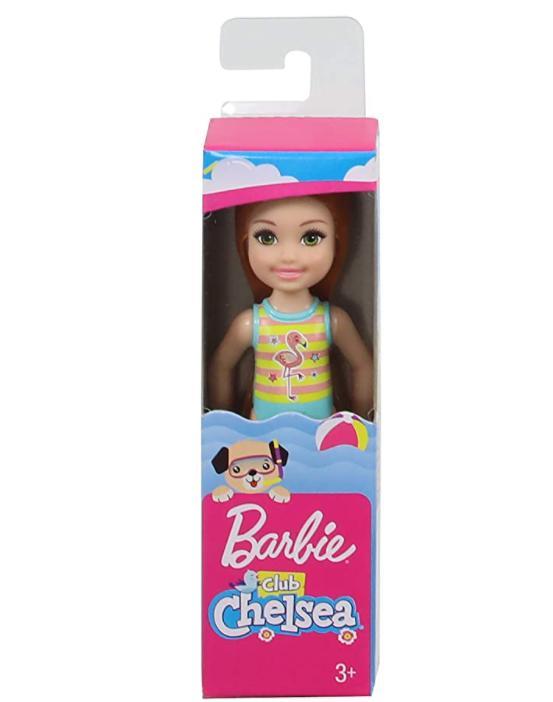 Boneca Barbie Club Chelsea Maiô Flamingo - Mattel