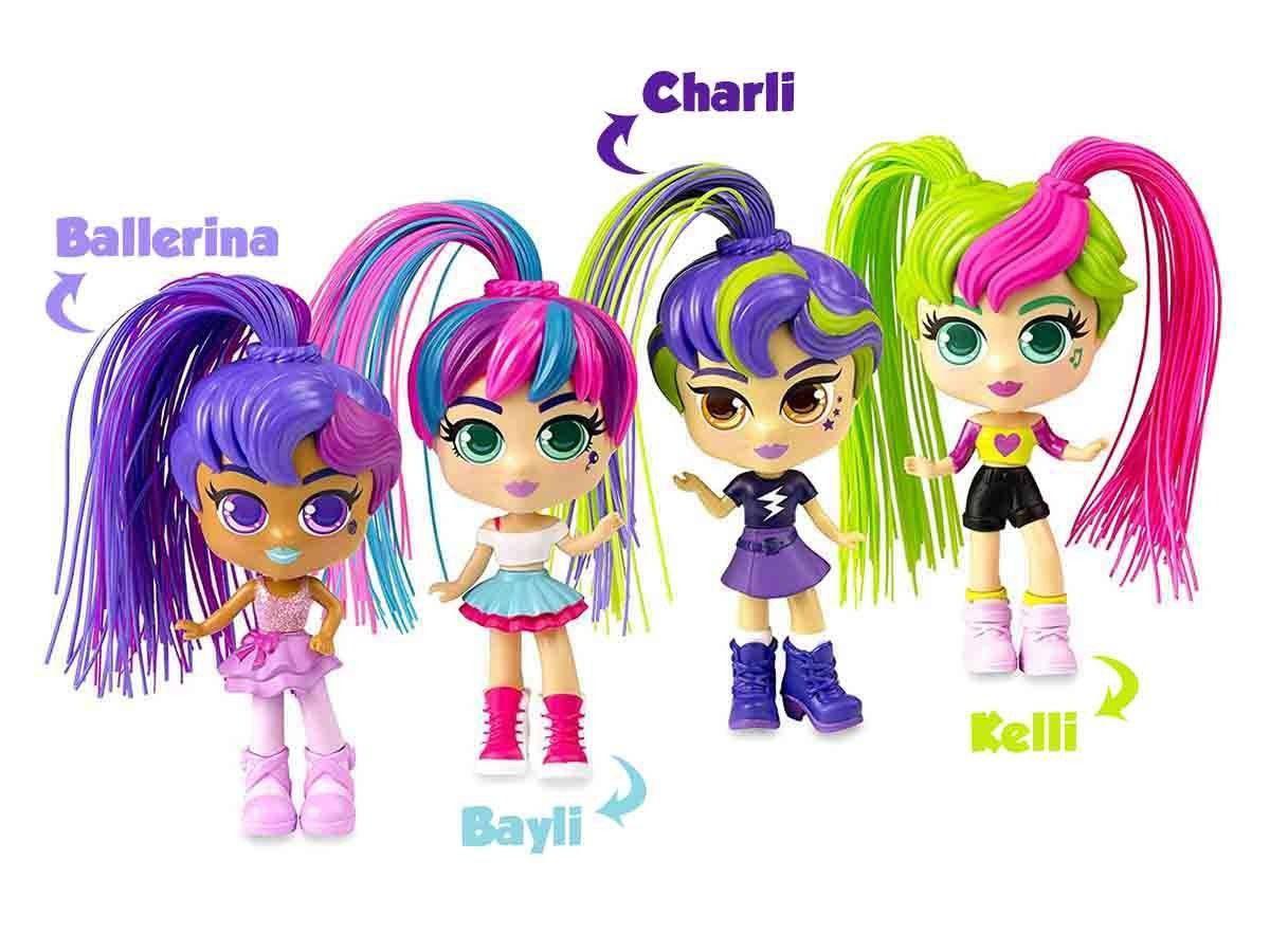 Boneca Curli Girls Kelli - Brinquedos Rosita