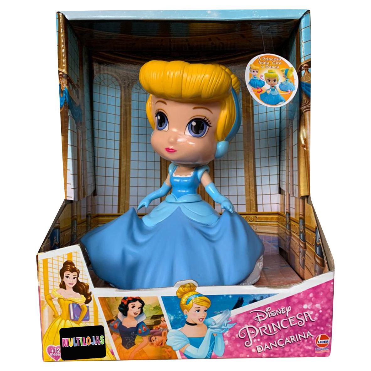 Boneca Dançarina Cinderela Disney - Líder