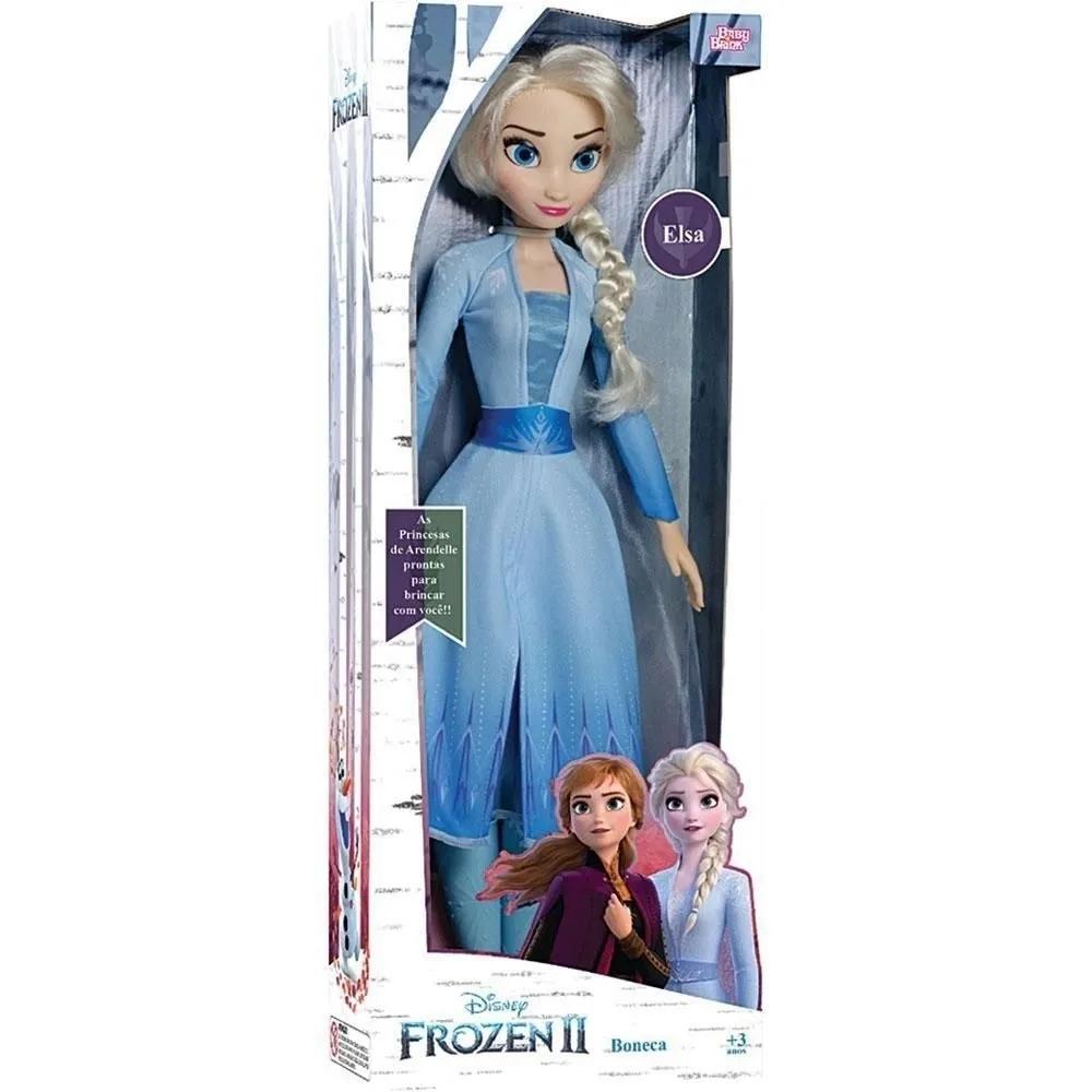 Boneca Elsa Mini My Size Frozen II Disney - Baby Brink