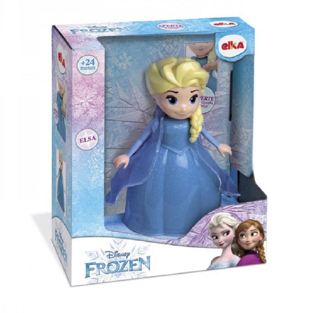 Boneca Elsa Frozen Disney com Som - Elka