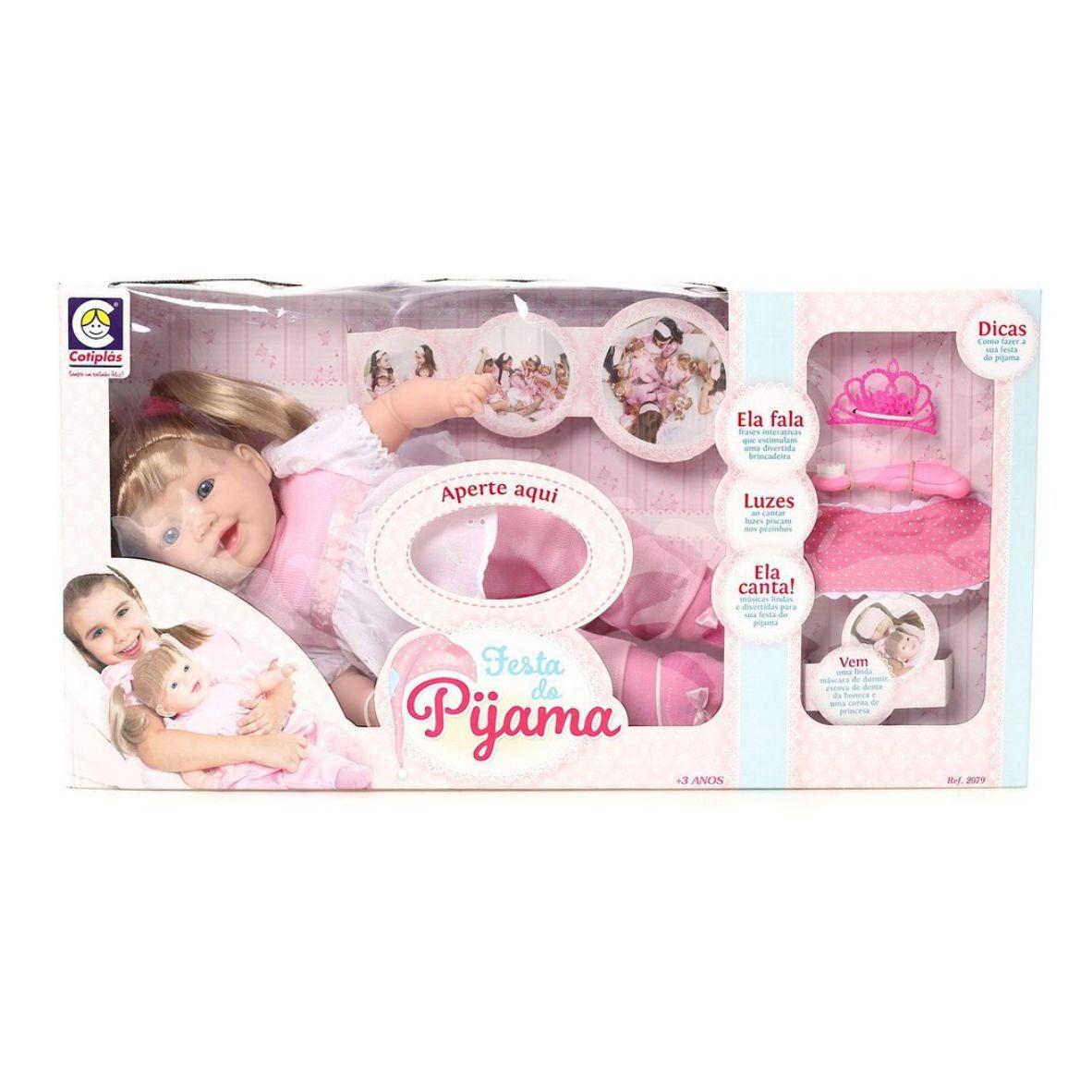 Boneca Festa do Pijama