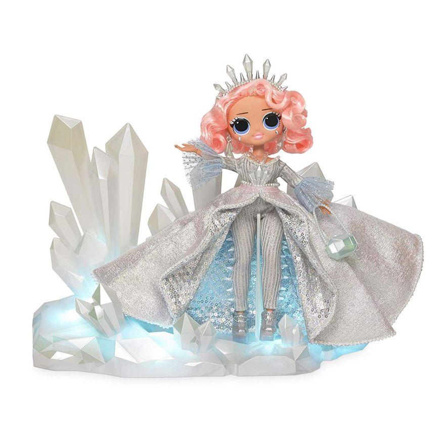 Boneca L.OL. Surprise O.M.G. Crystal Star Discoteca de Inverno - Edição de Colecionador - Candide