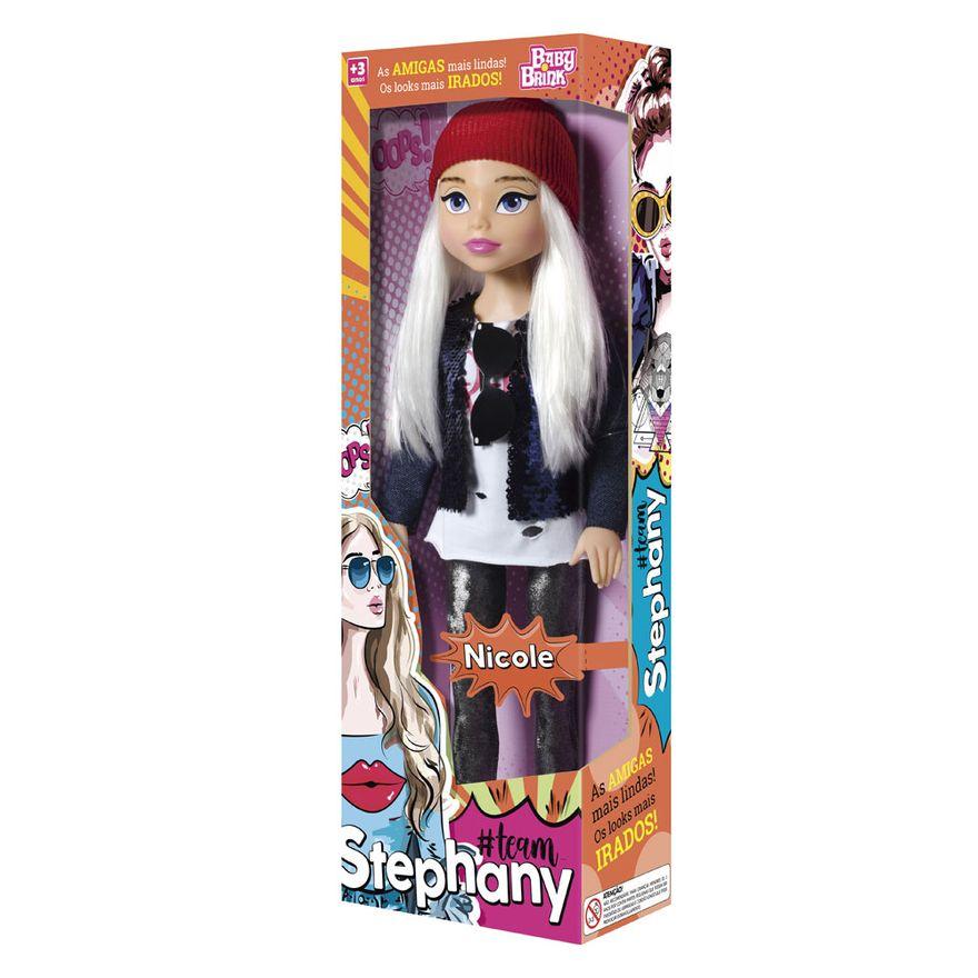 Boneca Nicole - Team Stephany - Baby Brink