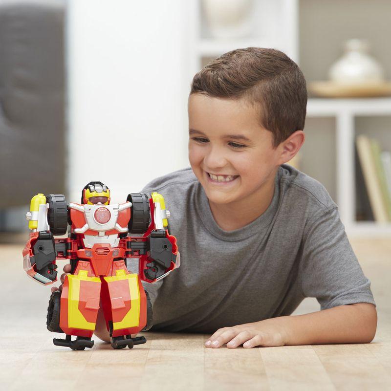 Boneco Transformers Rescue Bots Academy - Electronic Hot Shot 25 cm - Hasbro