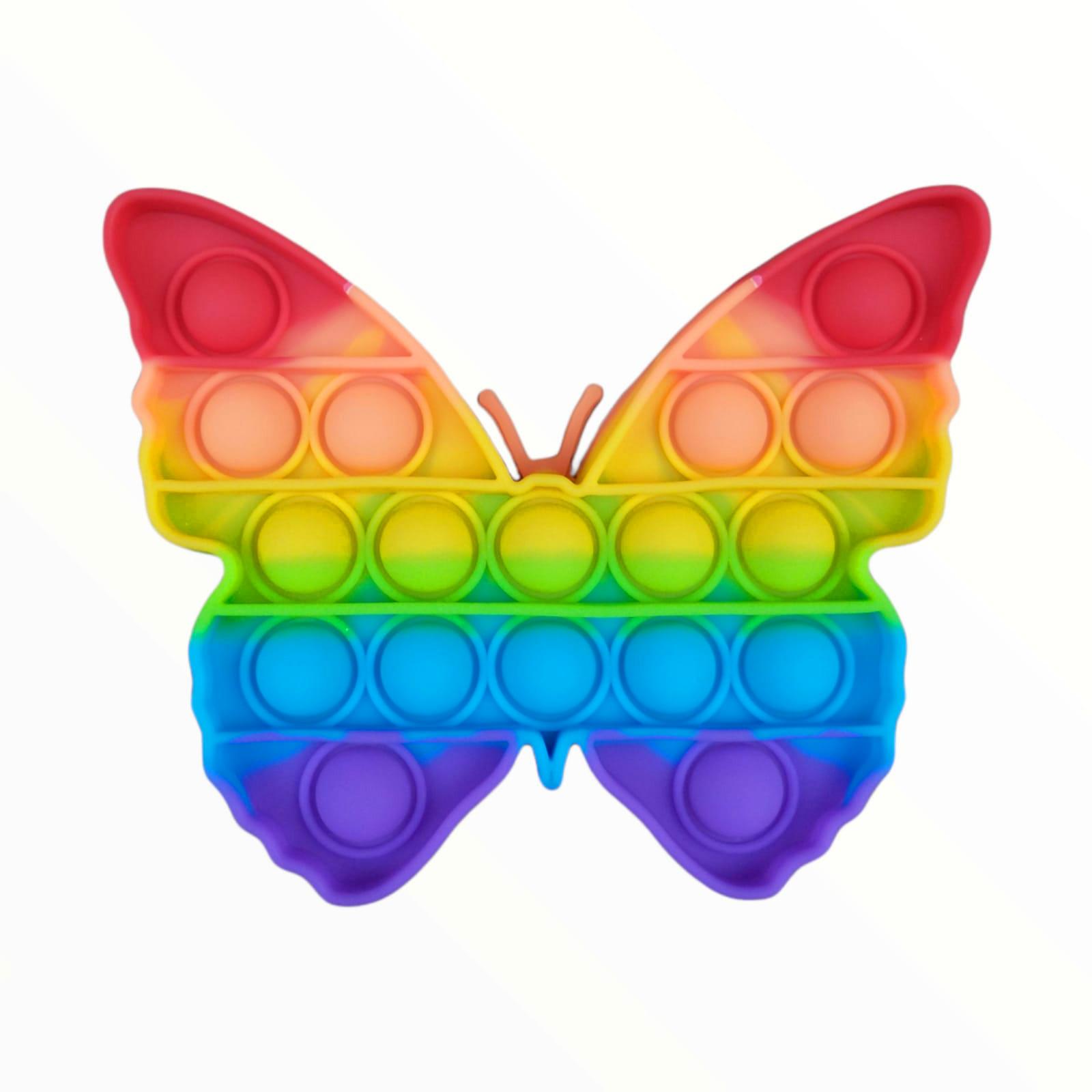 Brinquedo Anti-stress Pop It Fidget Toys - Borboleta
