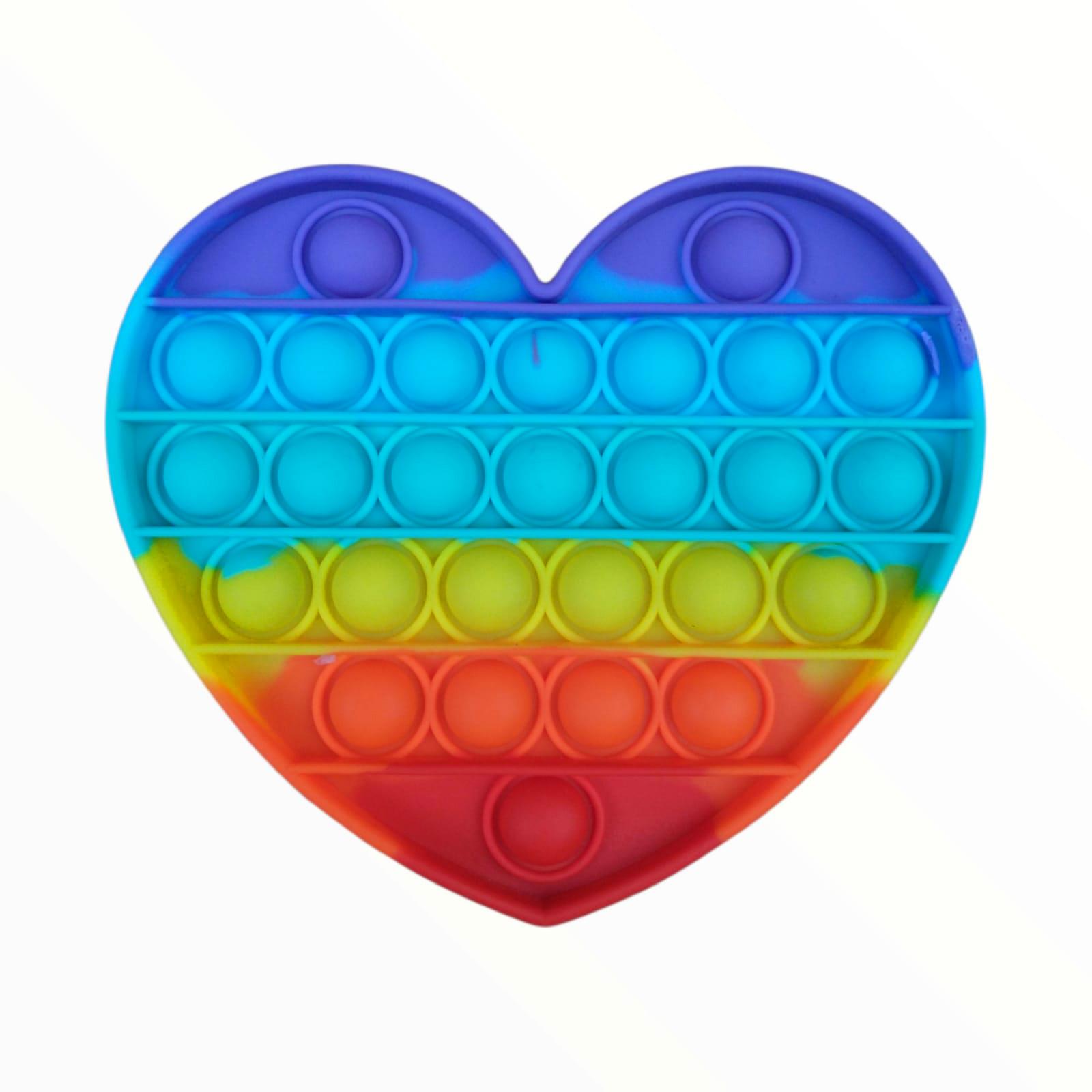 Brinquedo Anti-stress Pop It Fidget Toys - Coração